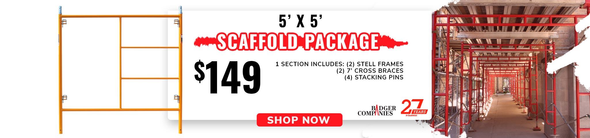 5' x 5' Scaffold Package