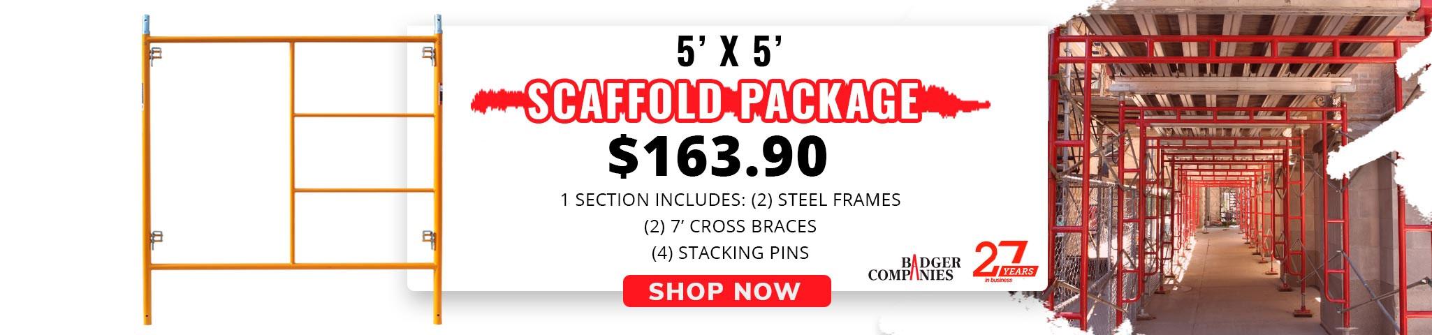 5' x 5' Mason Scaffolding