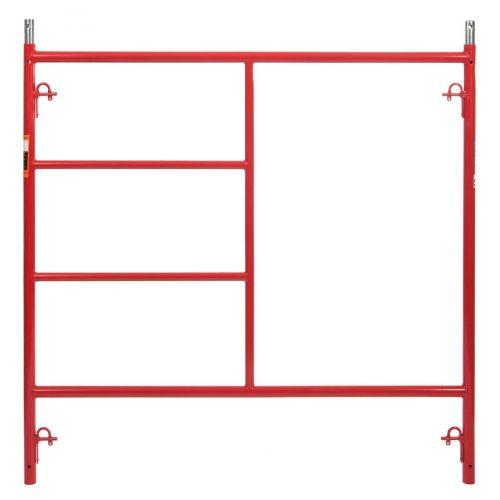 Red Scaffold Frames