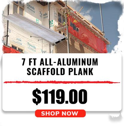 7 Ft. All-Aluminum Scaffold Plank
