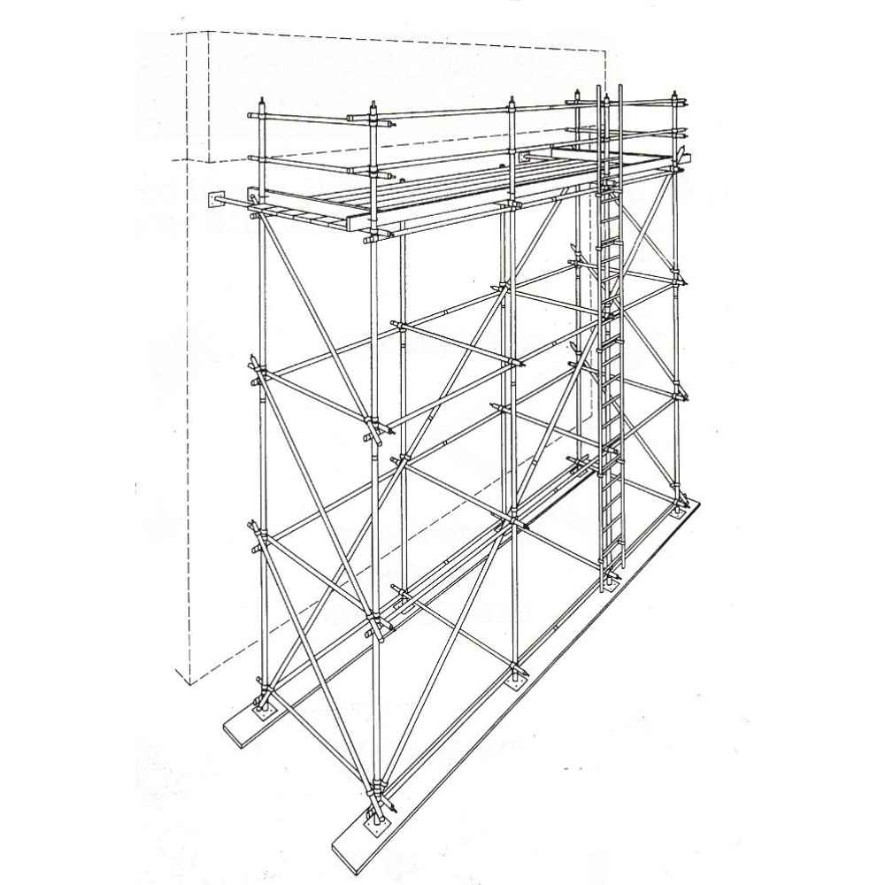 tube-clamp-scaffolding